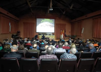 Conferencia sobre apicultura